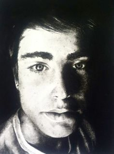 Dense Charcoal portrait #charcoal #AP #artwork