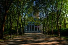 Morning at the Grant Memorial