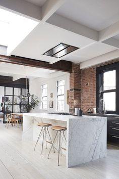 Conheça um lindo apartamento que mistura os estilos de decoração Escandinava e Rústica em NY!