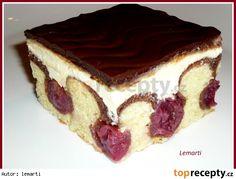 Donauwelle - super easy - i need more time for - Kuchen Make Ahead Desserts, No Bake Desserts, Dessert Recipes, Lemon Cheesecake Recipes, Easy No Bake Cheesecake, Sweets Cake, Cupcake Cakes, Cupcakes, German Baking
