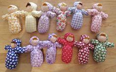 Evi Dolls - Little Baby Doll - Waldorf Dolls - Ava's Appletree