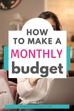New to budgeting? Here is a step-by-step guide on how to start budgeting so that you can start saving money fast. This is a friendly guide to budgeting for beginners. Budget Help, Making A Budget, Financial Peace, Financial Tips, Budgeting Finances, Budgeting Tips, Monthly Budget Template, Preparing For Retirement, Setting Up A Budget