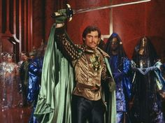 Timothy Dalton star as Prince Barin in Universal Pictures' Flash Gordon.