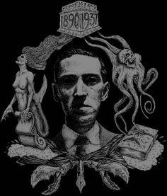 HP Lovecraft- back patch Dark Fantasy Art, Dark Art, Golden Girls, Necronomicon Lovecraft, Call Of Cthulhu Rpg, Wallpaper Hp, Lovecraftian Horror, Eldritch Horror, Horror Fiction