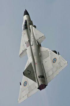 Saab AJ-37 Viggen.