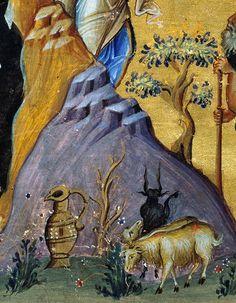 "Иконописная мастерская ""Иулиания"". Byzantine Icons, Byzantine Art, Russian Ark, Church Interior, Best Icons, Art Icon, Orthodox Icons, Painting Process, Fresco"