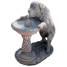Saint Bernard Water Fountain