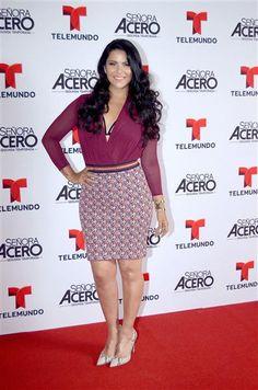 """Litzy en la fiesta para celebrar el estreno del primer capítulo de la telenovela """"Señora Acero 2"""", en México, el 22 de septiembre de 2015.¿Nos sigues en Facebook?"""