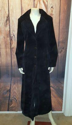 NEWPORT NEWS Vintage Velvet Duster Coat, Size 14    eBay