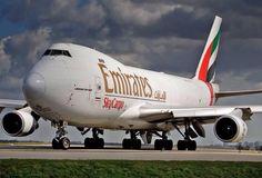 Emirates SkyCargo Boeing 747 freighter