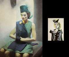 Retratos fotografiado en el estilo de las pinturas cubistas de Picasso - http://www.cleardata.com.ar/internet/retratos-fotografiado-en-el-estilo-de-las-pinturas-cubistas-de-picasso.html
