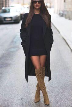 44 Stylish Ways To Wear Knee High Boots