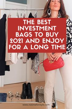 Which are the best investment bags to buy 2021? Lately I have received several requests from followers who asked me which are the most classic luxury models to focus on to enrich your wardrobe in the long term with a great new piece. #gucci #vuitton #hermes #prada #dior #chloé #dior Classic Handbags, Best Handbags, Vintage Handbags, Luxury Handbags, Dior Saddle Bag, Stella Mc, Celine Bag, French Chic, Best Bags