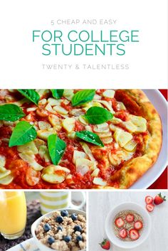 5 Cheap and Easy Meals For College Students