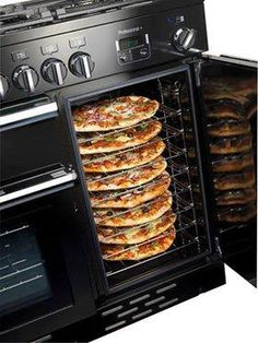 Rangemaster 92590 Professional Plus Dual Fuel Range Cooker - Kitchen Ideas Kitchen Cooker, Kitchen Stove, Kitchen Dining, Kitchen Appliances, Aga Stove, Electric Range Cookers, Luxury Kitchen Design, Professional Kitchen, Cooking Gadgets