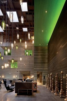 Best of Year 2014: Project Winners Category: Foreign Hotel. Project: Le Méridien Zhengzhou. Firm: Neri & Hu Design and Research Office. Location: China. Photography by Pedro Pegenaute.