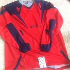 Thor Mx Jersey Men's MX racing jersey. In excellent condition. No rips or tears, no defects. Thor Tops