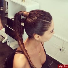 Image de braid, hair, and hairstyle