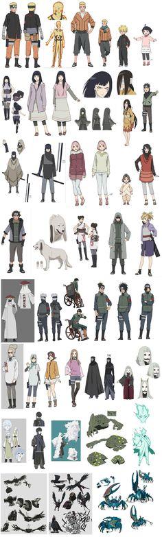 The Last: Naruto the Movie: Sage Tailed Beast Mode Naruto, Hinata, Kakashi Art (RUMOR) | Saiyan Island