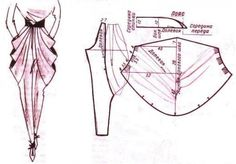 Just sew a easy Techniques Couture, Sewing Techniques, Sewing Pants, Sewing Clothes, Pattern Cutting, Pattern Making, Dress Sewing Patterns, Clothing Patterns, Modelista