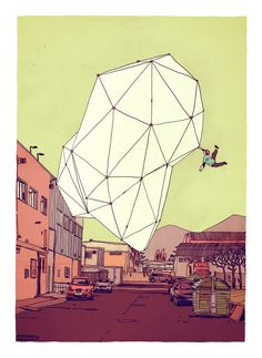 Jon Juárez dibuja mientras llueve   Singular Graphic Design