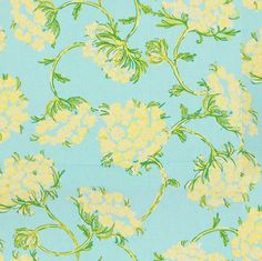 Racy Lacey Skye Blue by Lee Jofa Fabric Lilly Pulitzer Cotton Pakistan Medium Horizontal: 54 inches and Vertical: inches 54 inches - Fabric Carolina - Pattern Design, Print Design, Lilly Pulitzer Fabric, Lily Pulitzer, Mulberry Home, Lee Jofa, Contemporary Fabric, Fabric Wallpaper, Blue Design