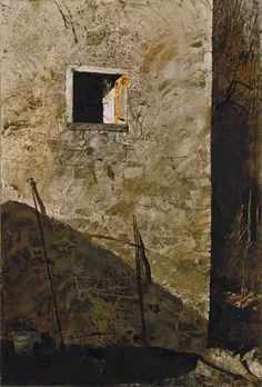 Andrew Wyeth (1917 – 2009) watercolor