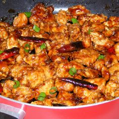 General Tso's Chicken @keyingredient #chicken