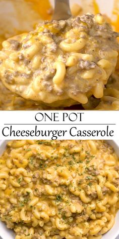 Easy Casserole Recipes, Easy Dinner Recipes, Easy Comfort Food Recipes, Hotdish Recipes, Easy Delicious Recipes, Skillet Recipes, Amazing Recipes, Tasty, Ground Beef Recipes Easy