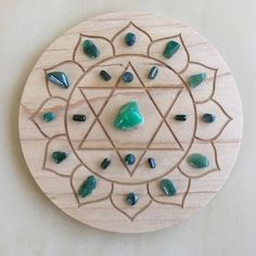 -4th Heart Chakra-Crystal Grid