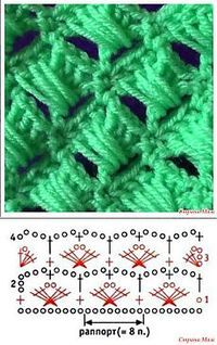 Watch This Video Beauteous Finished Make Crochet Look Like Knitting (the Waistcoat Stitch) Ideas. Amazing Make Crochet Look Like Knitting (the Waistcoat Stitch) Ideas. Crochet Stitches Chart, Crochet Diagram, Crochet Motif, Knitting Stitches, Crochet Designs, Knitting Patterns, Knit Crochet, Crochet Patterns, Crochet Squares