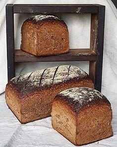 Mecklenburger- mein Heimatbrot - Brotkörbchen - posted by www. Bread Bun, Bread Rolls, Home Recipes, Bread Recipes, Pampered Chef, Pumpkin Recipes, Bread Baking, Banana Bread, Sandwiches