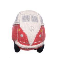 Cute VW bus crochet pillow.  OEUF NYC: Diseño TRÈS ECO CHIC para niños – nueva colección de otoño/invierno VIVA Brooklyn