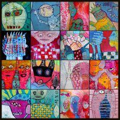 Elke Trittel acrylic on paper