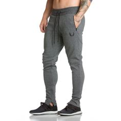 Reinforced Zip Jogger - Carbon Grey