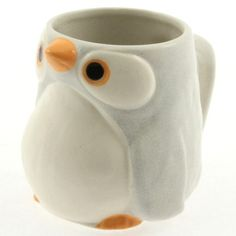Penguin Mug 9oz White Set Of 2, $24, now featured on Fab.