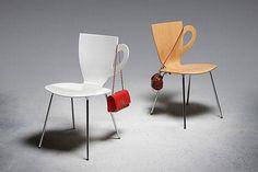 """""""Dove appoggio la borsa""""?  è sicuramente una delle frasi più pensare nei locali pubblici….magari ci fossero dappertutto queste sedie!!"""
