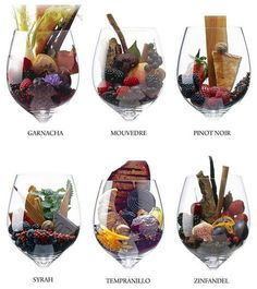 Red wine - this chart visually breaks down the aroma of certain wines. Vino Malbec, Wine Party Appetizers, Wine Chart, Wine Photography, Wine Education, Wine Cheese, In Vino Veritas, Wine And Spirits, Wine Cellar