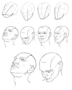 How to Draw a Face - 25 Step by Step Drawings and Video Tutorials | Read full article: http://webneel.com/how-draw-faces-drawings | more http://webneel.com/drawings | Follow us www.pinterest.com/webneel
