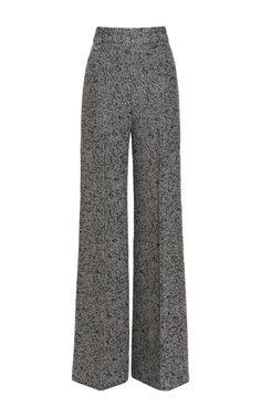 Classic high-waisted trousers. Emilia Wickstead helping me channel my inner Katharine Hepburn.