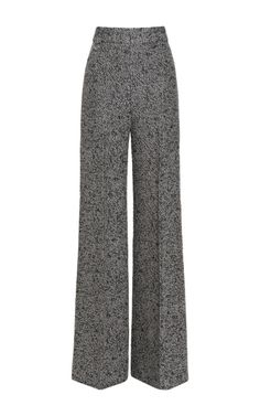 Classic high-waisted trousers. Emilia Wickstead helping me channel my inner Katharine Hepburn.