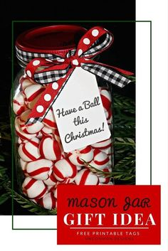 These printable tags are going to be perfect for so many gifts to make and give this year! Such a sweet mason jar gift idea!   Uncommon Designs #MadeFromHere: