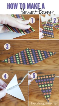 DIY how to banner AND Pumpkin Canvas Art with Buttons. LOTS of cute ideas w great detailed directions! Diy And Crafts, Crafts For Kids, Paper Crafts, Pumpkin Canvas, Craft Projects, Projects To Try, Craft Ideas, Pennant Banners, Bunting