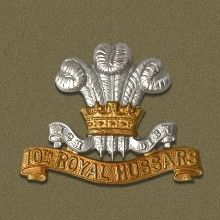 Badge of the 10th Royal Hussars. The 10th Royal Hussars (Prince of Wales's Own) was a cavalry regiment of the British Army from 1715 to 1969. In the Waterloo campaign, as part of the 6th Cavalry Brigade, the regiment again saw action, fighting at the Battle of Waterloo as part of the charge that routed the French cavalry.