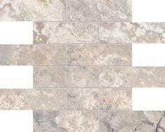 Montecelio Argento HD Mosaics 2x6