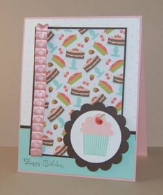 Mojo220 Cupcakes by amyfitz1 - Cards and Paper Crafts at Splitcoaststampers