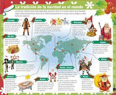 La navidad en el mundo (infografía) - http://www.leanoticias.com/2011/12/01/la-navidad-en-el-mundo-infografa/