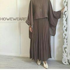 # The post appeared first on Güzel Ege - Bilgi ve Destek Platformu. Pakistani Fashion Casual, Abaya Fashion, Muslim Fashion, Modest Fashion, Fashion Dresses, Muslim Dress, Hijab Dress, Frock For Women, Hijab Fashionista