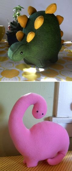 stuffed dino felties