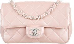 Chanel Mini Rectangular Classic Flap Bag | THEREALREAL saved by #ShoppingIS